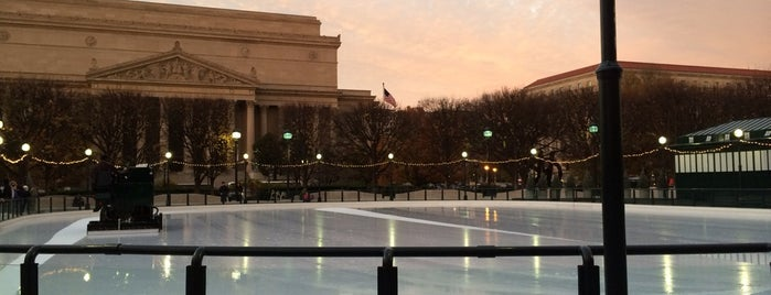 National Gallery of Art Sculpture Garden Ice Rink is one of Massive List of Tourist-y Things in DC.
