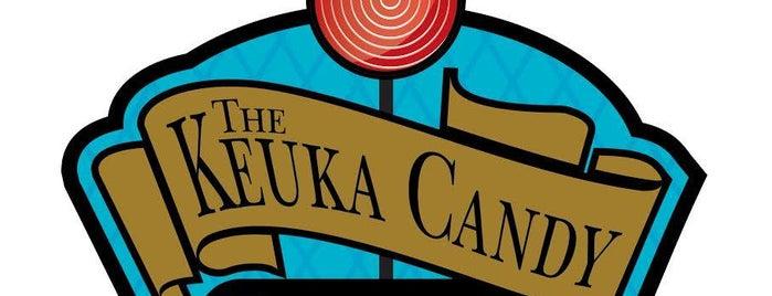 The Keuka Candy Emporium is one of สถานที่ที่ Virginie ถูกใจ.