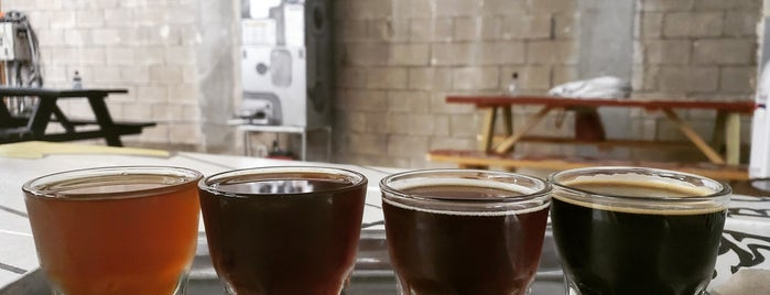 Accomplice Brewery and Ciderworks is one of Breweries or Bust 3.