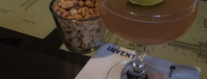 Invention Bar & Lounge is one of LA Bar Resto.