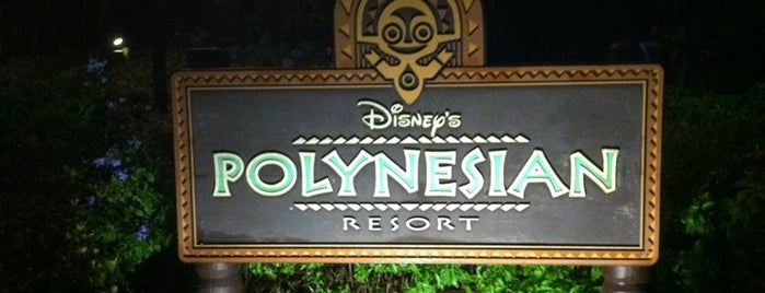 Disney's Polynesian Village Resort is one of Alan 님이 좋아한 장소.
