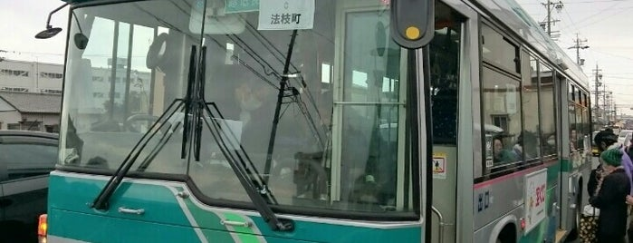 法枝町バス停 (掛舞線) is one of 遠鉄バス 16-4|小沢渡線.