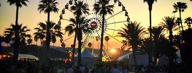 Coachella Valley Music and Arts Festival is one of Gespeicherte Orte von Sevda.