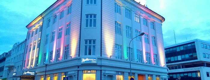 Radisson Blu 1919 Hotel, Reykjavik is one of Every single bar in downtown Reykjavík.