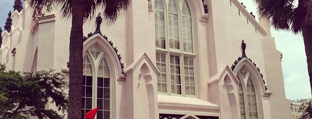French Huguenot Church is one of Charleston.