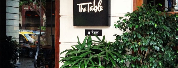 The Table is one of T+L's Definitive Guide to Mumbai.