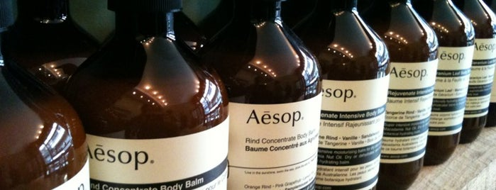 Aēsop is one of Lugares favoritos de Jiordana.