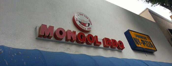 Mongol's BBQ is one of Dankest LA Eats.