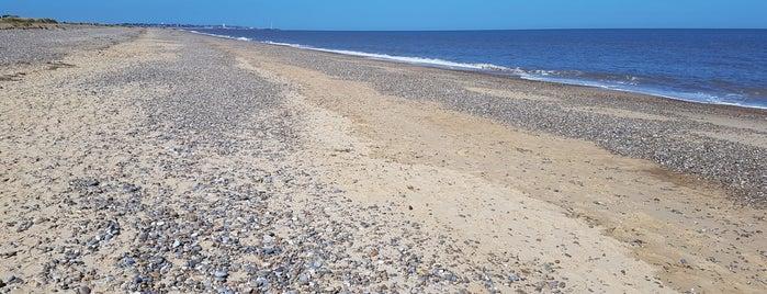 Kessingland Beach is one of Lugares favoritos de Carl.
