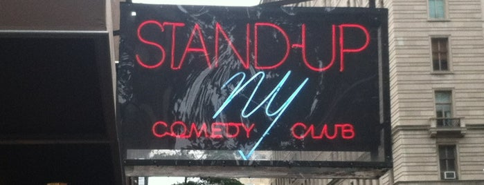 Stand Up NY is one of Comedy Clubs 🤣.