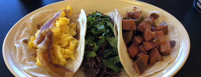 Mimi's Barbacoa Tacos Tamales y Mas is one of TM 120 Tacos You Must Eat Before You Die.
