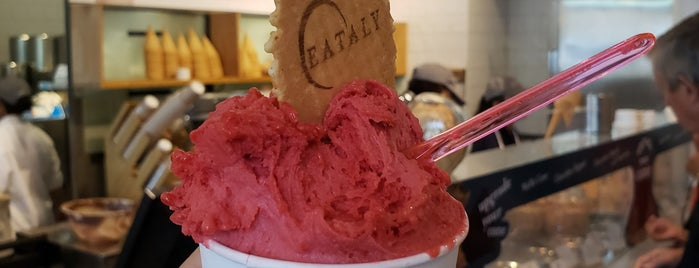 Il Gelato @ Eataly is one of Fidi Eats.
