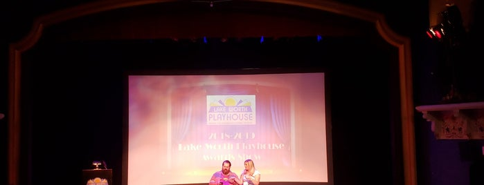Lake Worth Playhouse is one of Palm Beach Arts.