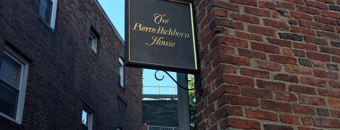 Pierce / Hichborn House is one of Boston, MA.