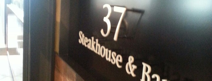 37 Steakhouse & Bar is one of Tempat yang Disimpan Hide.