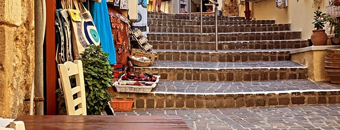 Chania Old Town is one of Crete.