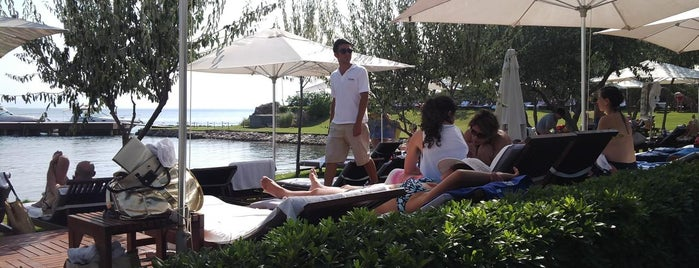 Ortunç Club Beach is one of Lugares favoritos de OmerKerem.