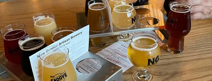 New Groove Artisan Brewing is one of Breweries I've been to..