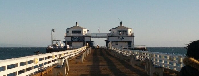 Malibu Sport Fishing Pier is one of LA.