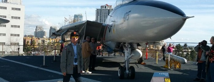 USS Midway Museum is one of Aviation.