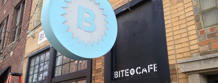 Bite Café is one of Rick E 님이 저장한 장소.