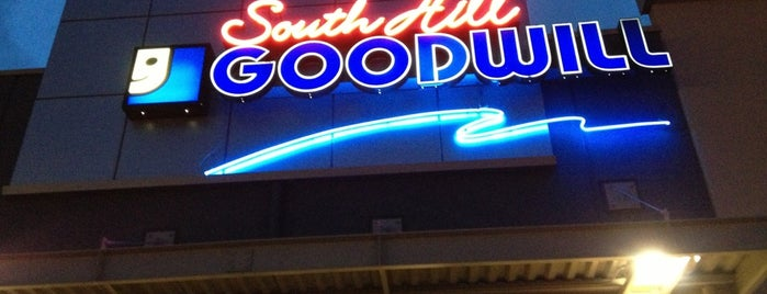 South Hill Goodwill is one of สถานที่ที่ Melissa ถูกใจ.