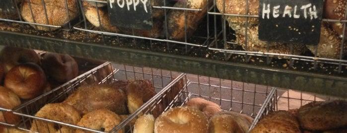 Murray's Bagels is one of Dana's Favorite New York Spots.