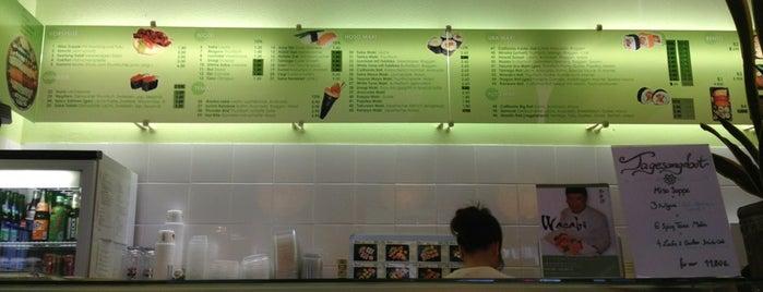 Wasabi Sushi Bar is one of Lieux qui ont plu à Robert.