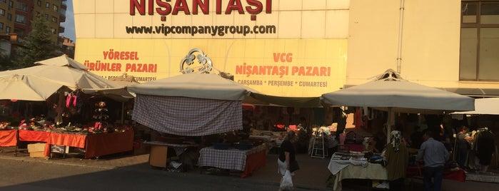 Sosyete Nişantaşı Pazarı is one of renklimelodiblog : понравившиеся места.