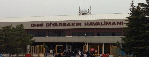 Diyarbakır Havalimanı (DIY) is one of ahmetさんのお気に入りスポット.