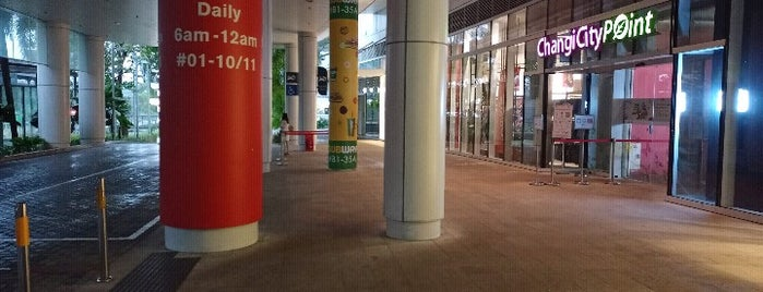 Changi City Point is one of le 4sq with Donald :].