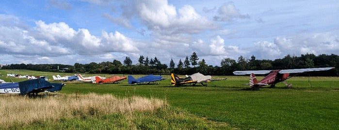 Popham Airfield is one of Britain.