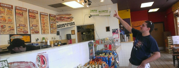 Blimpie Subs & Sandwiches is one of Favorite Food.