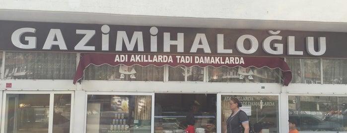 Gazimihaloğlu Dondurma Tatlı is one of Mehmet Koray'ın Beğendiği Mekanlar.