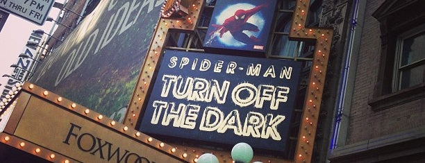 Spider-Man: Turn Off The Dark at the Foxwoods Theatre is one of Locais Especiais.