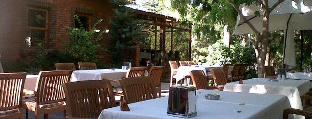 Ankara Universitesi Akademi Restoran is one of Tempat yang Disimpan ibrahim.