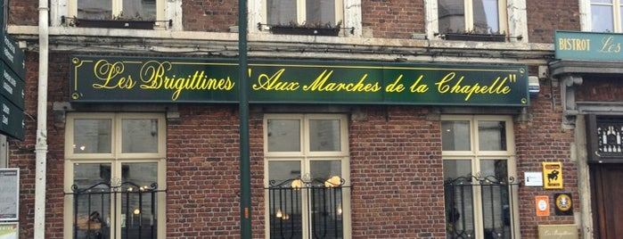 Les Brigittines 'Aux Marches de la Chapelle' is one of resto Brussels.