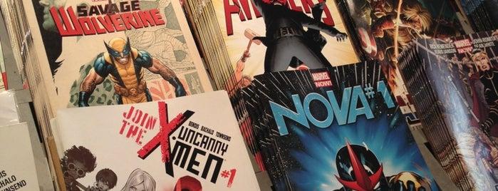 Album Comics is one of Les lieux geek de Paris.