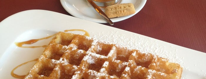 Maison Dandoy - Tearoom & Waffle is one of S Marks The Spots in BRUSSELS.