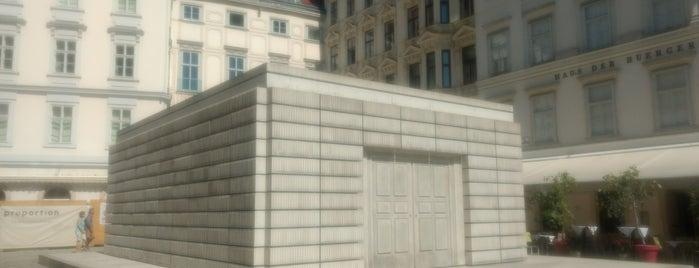 Mahnmal für die österreichischen jüdischen Opfer der Schoah | Holocaust Memorial is one of Vienna.
