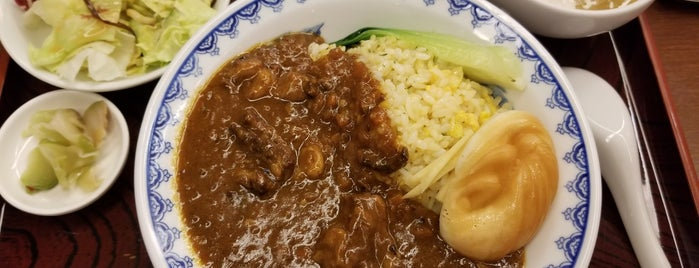 中国料理 翠 is one of TOKYO-TOYO-CURRY 4.