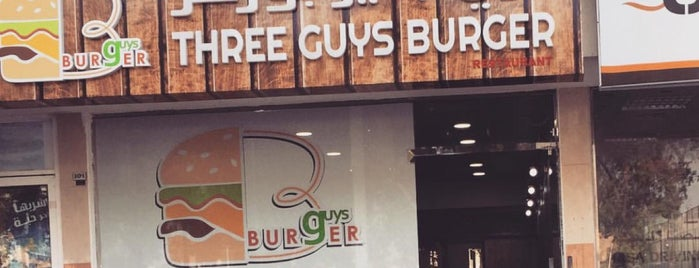 Three guys burger is one of Lieux sauvegardés par Ba6aLeE.
