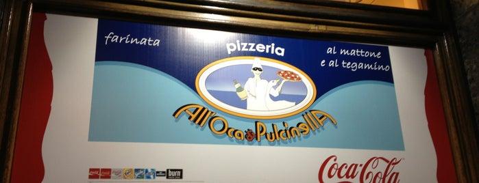 All'Oca di Pulcinella is one of Lugares guardados de renzo.