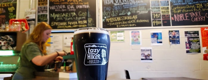 Lazy Hiker Brewing Co. is one of Highlands.