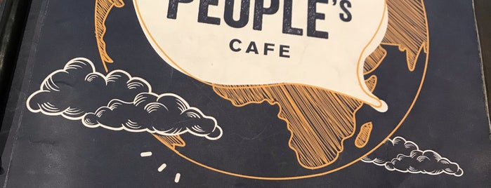 The People's Cafe is one of ISMAYA List.