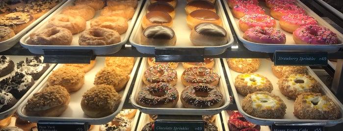 Krispy Kreme is one of Lieux qui ont plu à iSA 💃🏻.