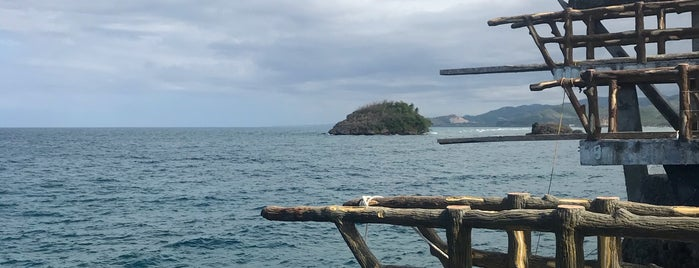 Magic Island is one of Boracay.