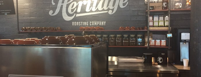 Heritage Roasting Co is one of Great Coffee.