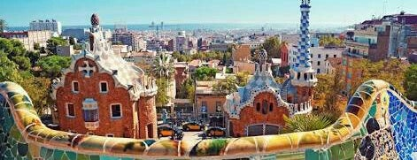 Parque Güell is one of #myhints4Barcelona.