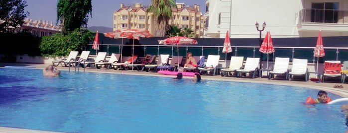 Alkan Hotel Marmaris is one of Korayさんのお気に入りスポット.